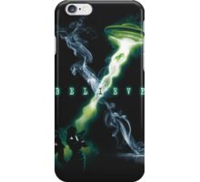 X FILES BELIEVE iPhone Case/Skin