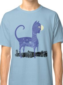Night Cat owns the City Classic T-Shirt