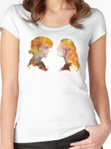 """Princess Bride // Buttercup and Wesley // """"As You Wish"""" Women's Fitted Scoop T-Shirt"""