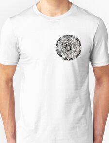 Moon Mandala Sketch T-Shirt
