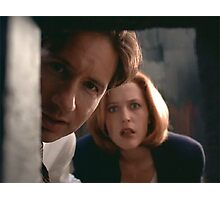 Mulder & Scully Photographic Print
