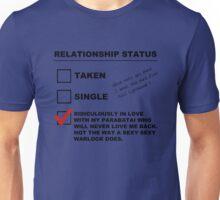 TMI - Malec : Alec's Relationship Status Unisex T-Shirt