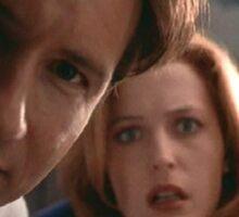 Mulder & Scully Sticker