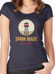Spark House Red Ale Women's Fitted Scoop T-Shirt