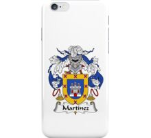 Martinez Family Crest Heraldic Shield iPhone Case/Skin