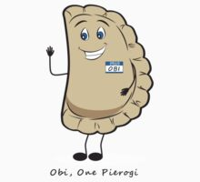 Obi, One Pierogi One Piece - Short Sleeve
