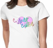 CYBER CUTIE Womens Fitted T-Shirt