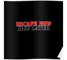 Escape Now, Hug Later Poster