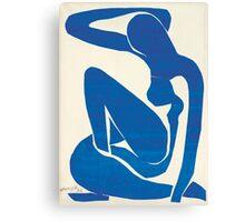 Matisse Blue Nude II Canvas Print