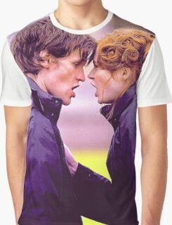 Matt Smith and Karen Gillan Graphic T-Shirt
