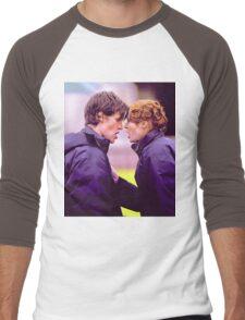 Matt Smith and Karen Gillan Men's Baseball ¾ T-Shirt