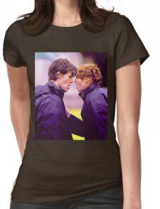 Matt Smith and Karen Gillan Womens Fitted T-Shirt