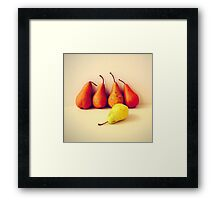 The Genius Of A Misfit Framed Print