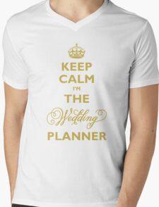Keep Calm I am The Wedding Planner Mens V-Neck T-Shirt