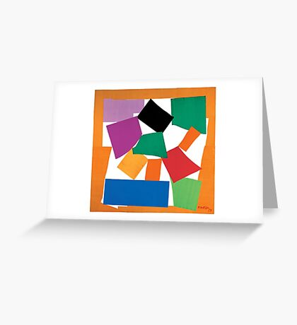 Matisse The Snail Greeting Card