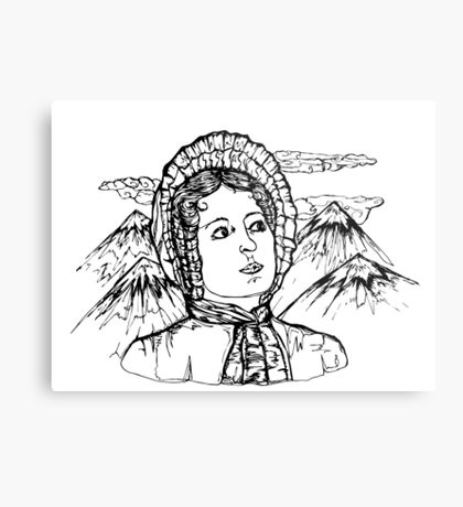 Elizabeth Bennet Metal Print