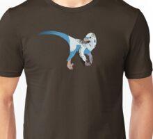 Dino Birds - Blue Parakeet Unisex T-Shirt