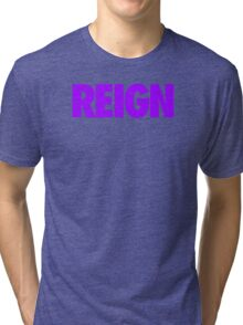 PURPLE REIGN Tri-blend T-Shirt