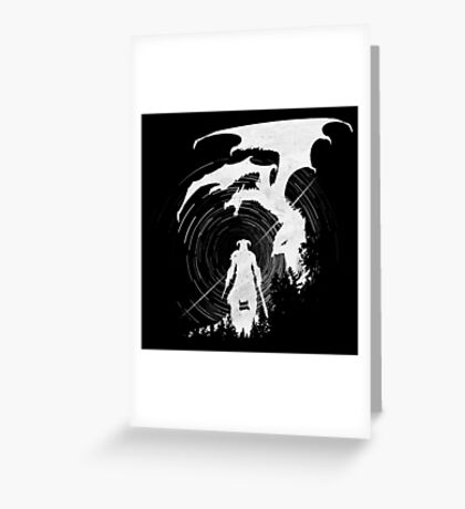 Dragon Fighter Greeting Card