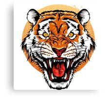 Bengal Tiger Head Canvas Print