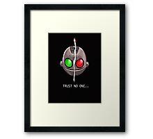 Clank & Klunk - Trust No One Framed Print