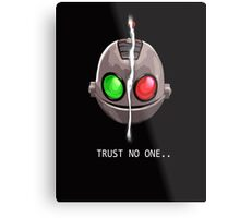 Clank & Klunk - Trust No One Metal Print