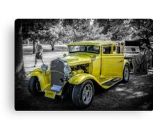 1931 Ford Model A Canvas Print