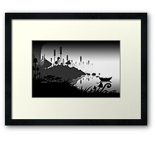 The Shoreline Framed Print