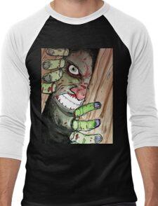 zombie breaking in Men's Baseball ¾ T-Shirt