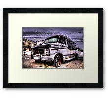 The old camper Framed Print
