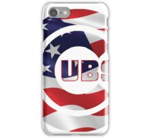 Cubs Flag iPhone Case/Skin