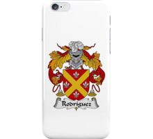 Rodriguez Family Crest Heraldic Shield iPhone Case/Skin