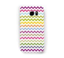 Multi-colored zig zag Samsung Galaxy Case/Skin
