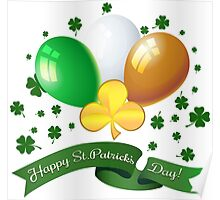 Saint Patricks Day Greeting theme Poster