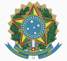 National Coat of Arms of Brazil by artpolitic