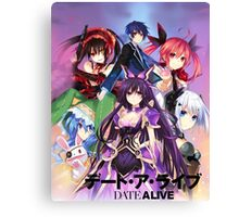 Date A Live - Graphic Canvas Print