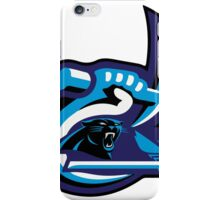 UNC Charlotte Panthers Hornets iPhone Case/Skin