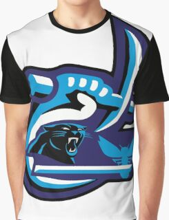 UNC Charlotte Panthers Hornets Graphic T-Shirt