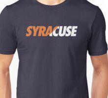 SYRACUSE - SLANT (Orange) Unisex T-Shirt