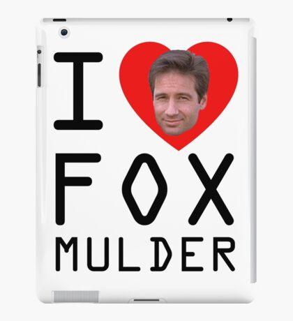 I Heart Fox Mulder iPad Case/Skin