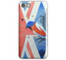 Tribute to David Bowie iPhone Case/Skin