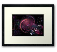 Galaxy of Emptiness Framed Print