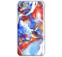 Flow - non objective art in acrylic iPhone Case/Skin