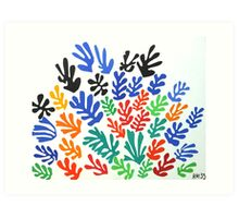 Matisse La Gerbe (The Sheaf) Art Print
