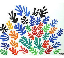 Matisse La Gerbe (The Sheaf) Photographic Print