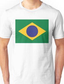 National flag of Brazil Unisex T-Shirt