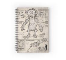 Mizgot full schematic Spiral Notebook