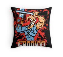 Earthworm Ash Throw Pillow