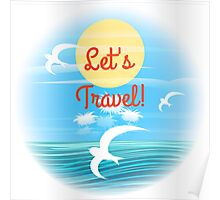 Travel theme Poster
