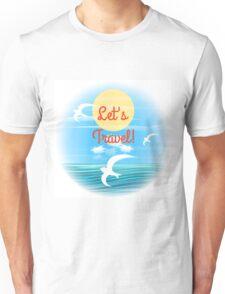 Travel theme Unisex T-Shirt